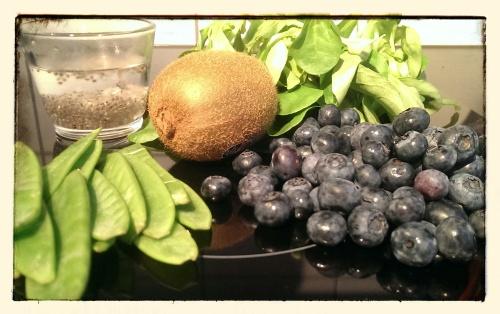 Grüner Blaubeer-Smoothie I