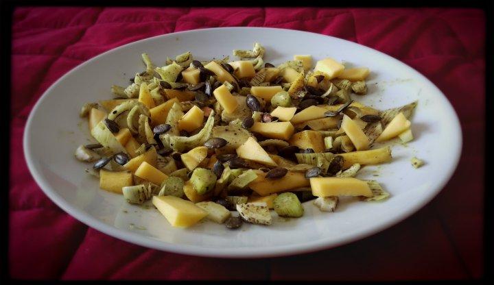 150903 fenchel-mango-kürbiskern-salat