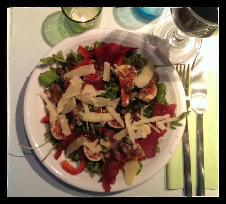 151001 salat mit feige