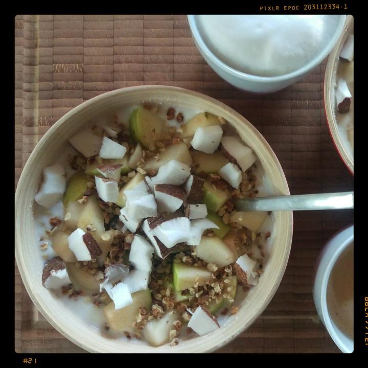 151106 joghurtporridge m birne und kokos
