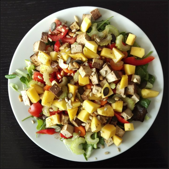 160606 salat m tofu u mango