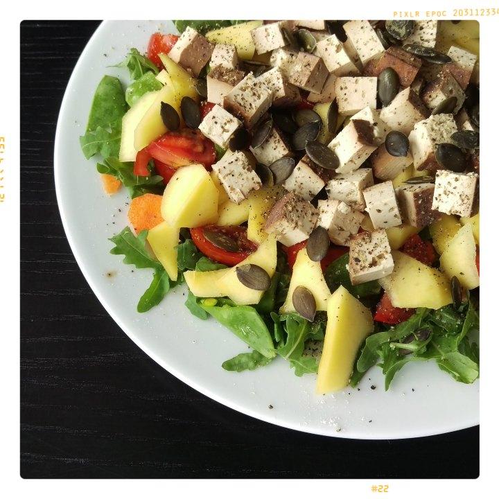 160629 rucolasalat m tofu