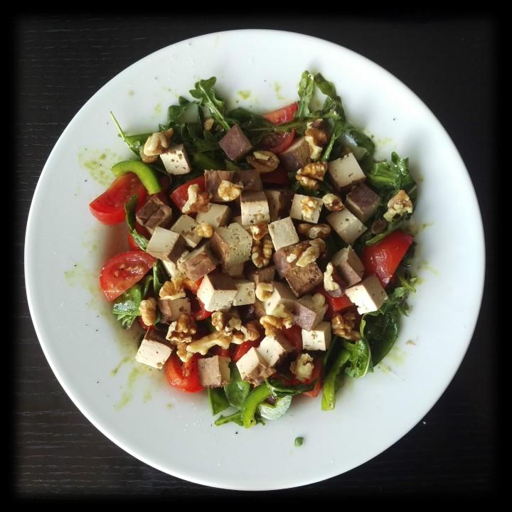 160703 tomaten-rucola-salat m tofu