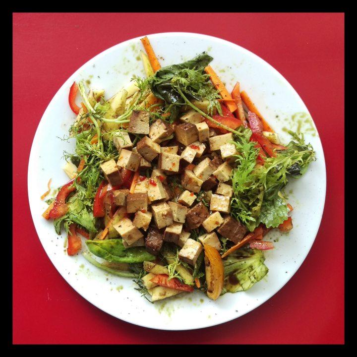 160816 spicy salad